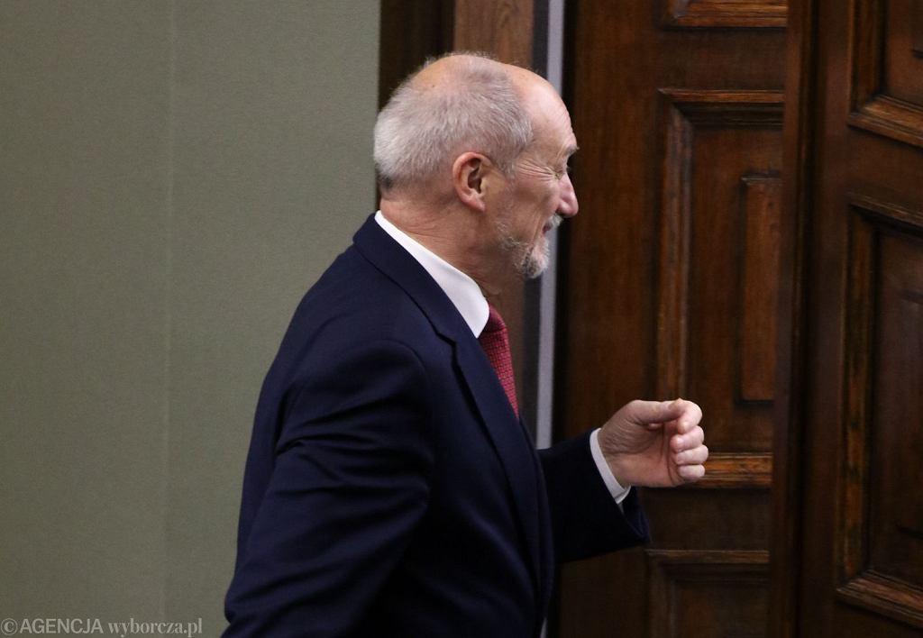 Antoni Macierewicz, były minister obrony (fot. Sławomir Kamiński/AG)
