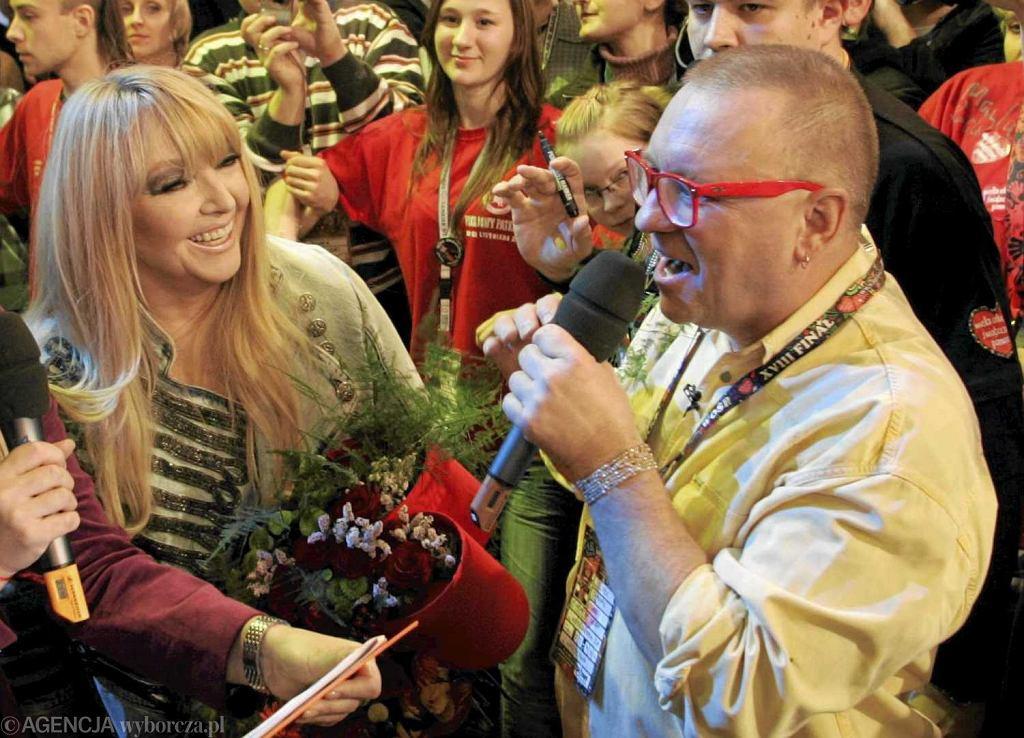 Maryla Rodowicz i Jurek Owsiak