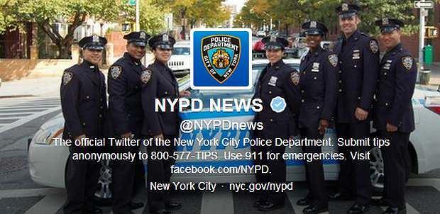 Twitter nowojorskiej policji