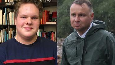 Franek Broda i Andrzej Duda