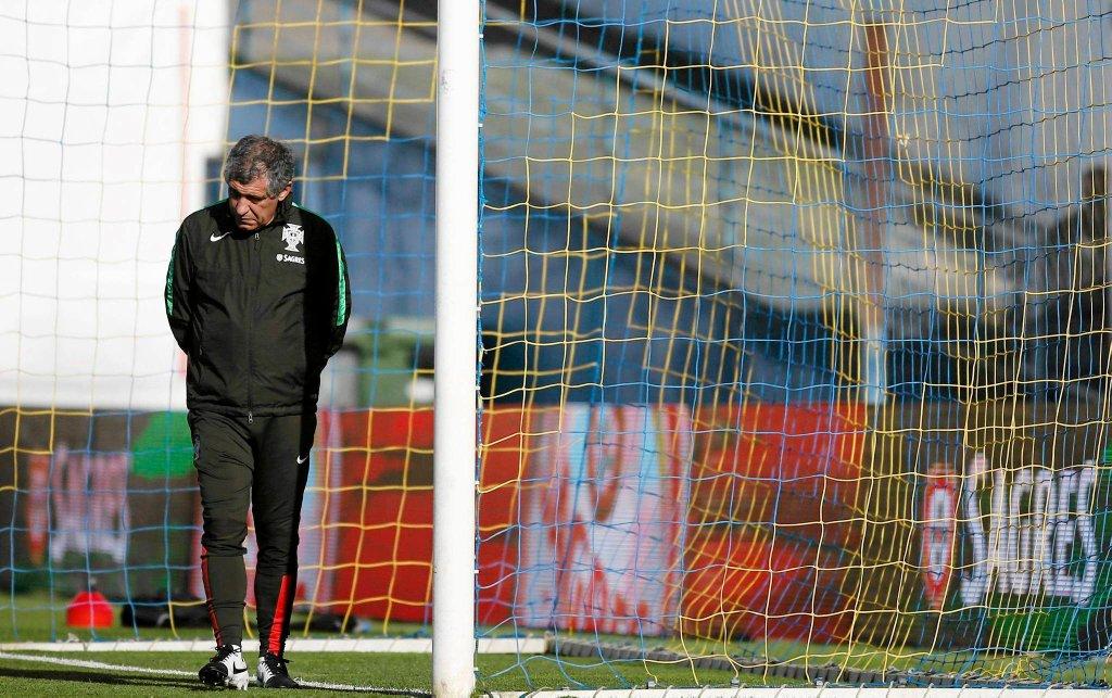 Trener Portugalczyków Fernando Santos