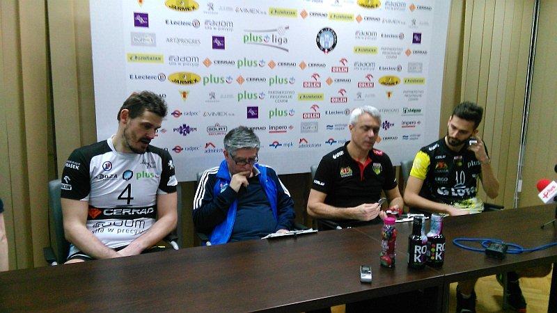 Konferencja po meczu Cerrad Czarni vs Lotos Trefl