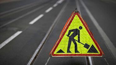 Roboty drogowe - zdjęcie ilustracyjne