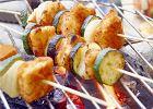 Szaszłyki z ryby i cukinii - Zdjęcia