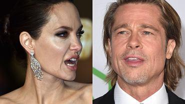 Angelina Jolie. Brad Pitt