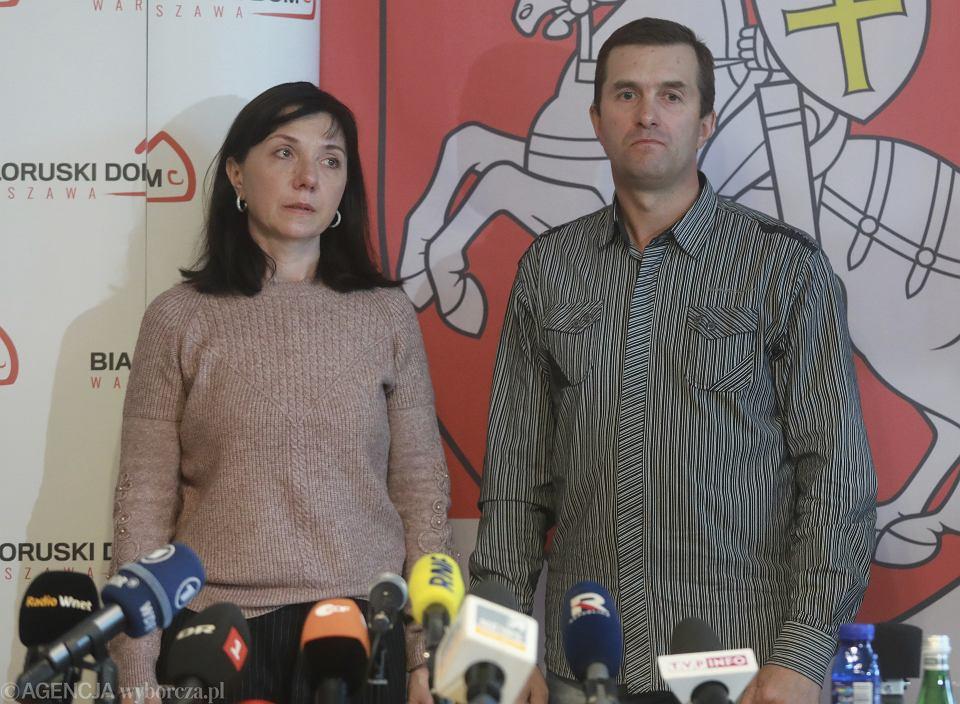 Rodzice Romana Protasewicza