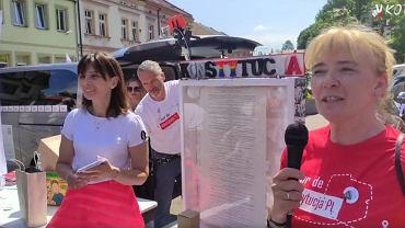 Tour de Konstytucja w Dobczycach