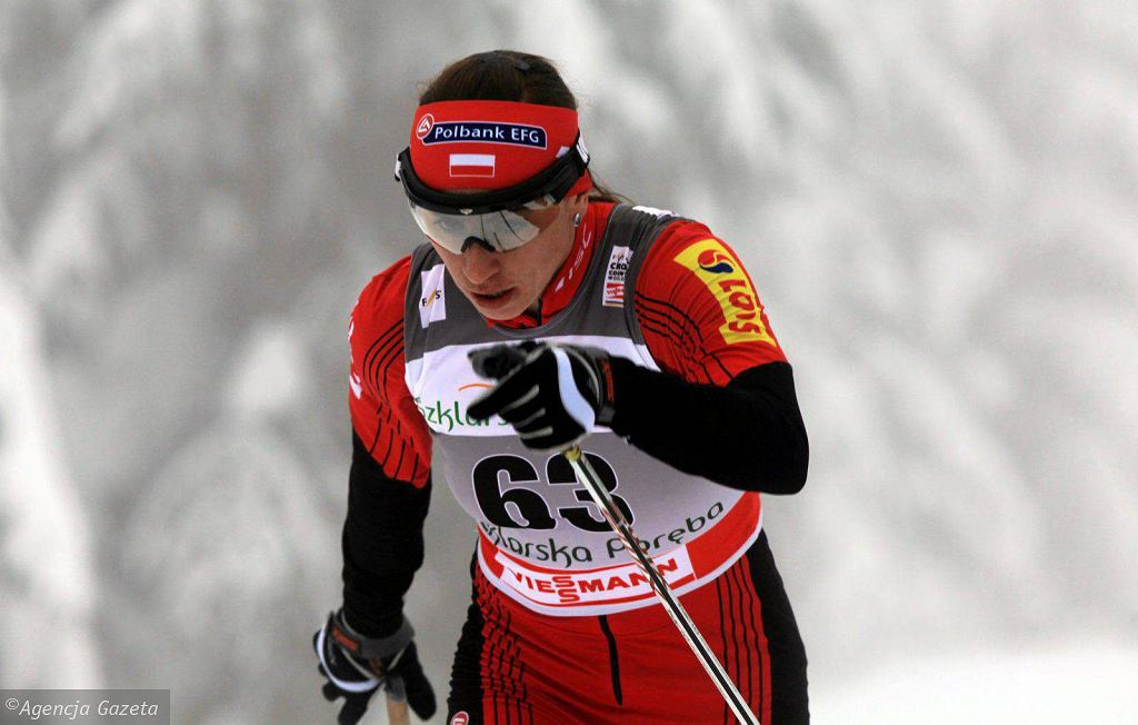 Justyna Kowalczyk podczas Pucharu Świata w Jakuszycach w 2012 roku