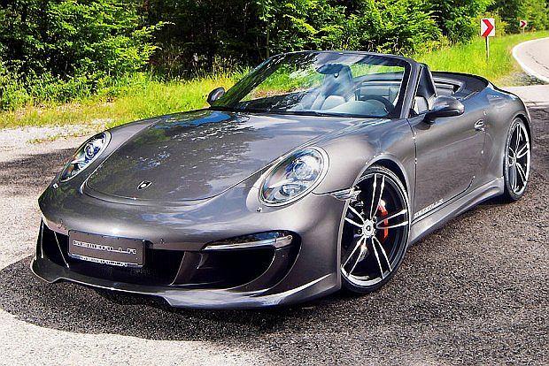 Dla fanów Porsche Gemballa przygotował kit aerodynamiczny. Na zdjęciu model 991 Carrera S  Cabrio