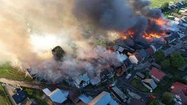 Pożar w Nowej Białej