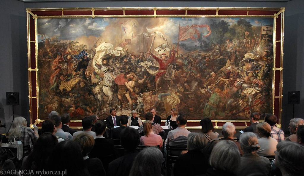Obraz Jana Matejki 'Bitwa pod Grunwaldem'