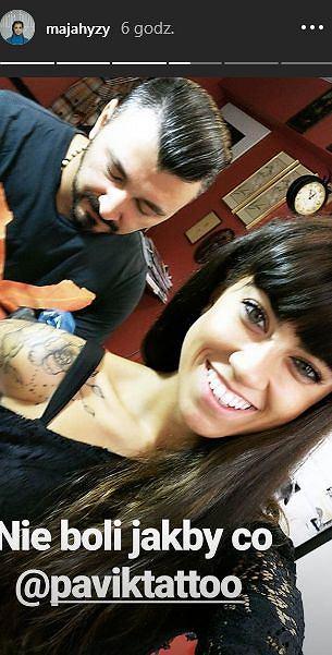 Maja Hyży Zdecydowała Się Na Nowy Tatuaż Pochwaliła Się Tym