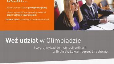 Sprawdź swoją wiedzę w ogólnopolskiej Olimpiadzie