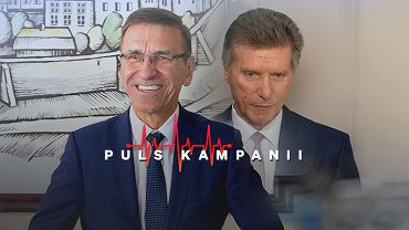 Piotr Grzymowicz (z lewej), Czesław Małkowski (z prawej), fot. Robert Robaszewski / Agencja Gazeta; fot. Arkadiusz Stankiewicz / Agencja Gazeta