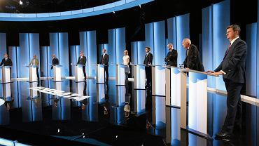 Wybory prezydenckie 2015. Debata prezydencka w TVP