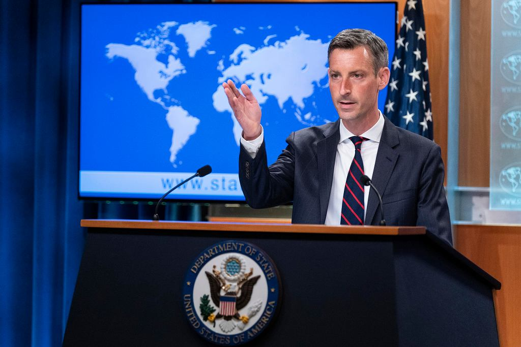 Rzecznik Departamentu Stanu USA Ned Price