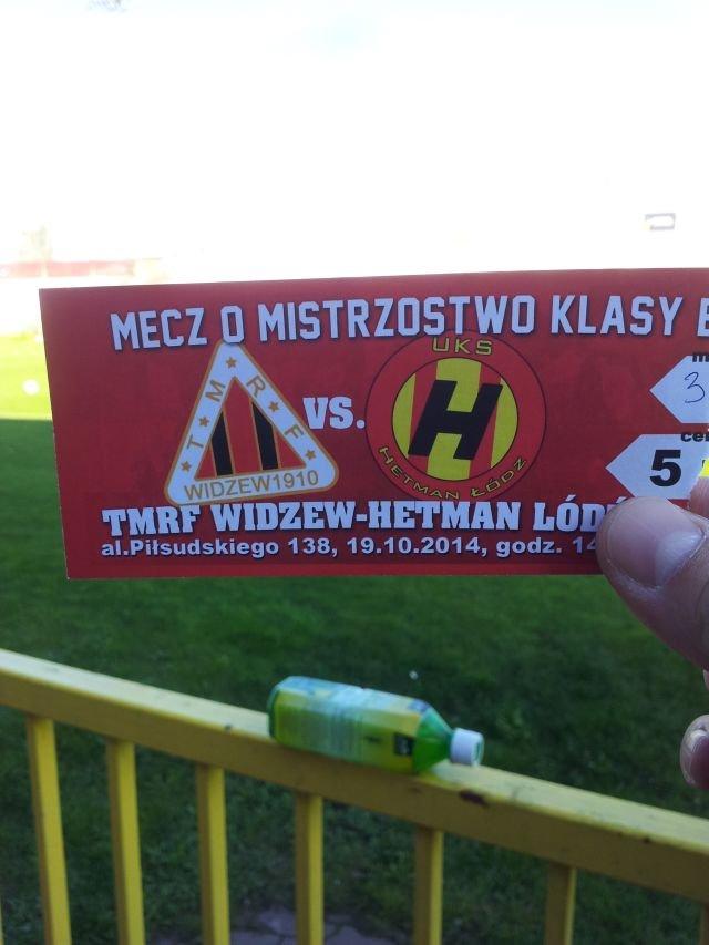TMRF Widzew - Hetman Łódź 1:0
