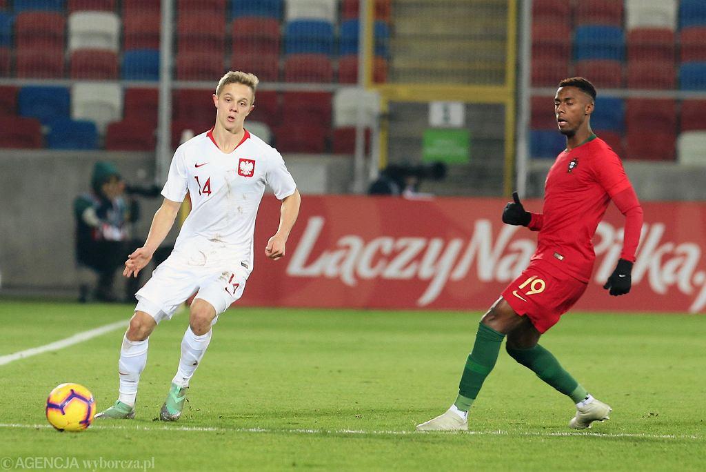 Polska U-21 - Portugalia U-21 0:1 w Zabrzu