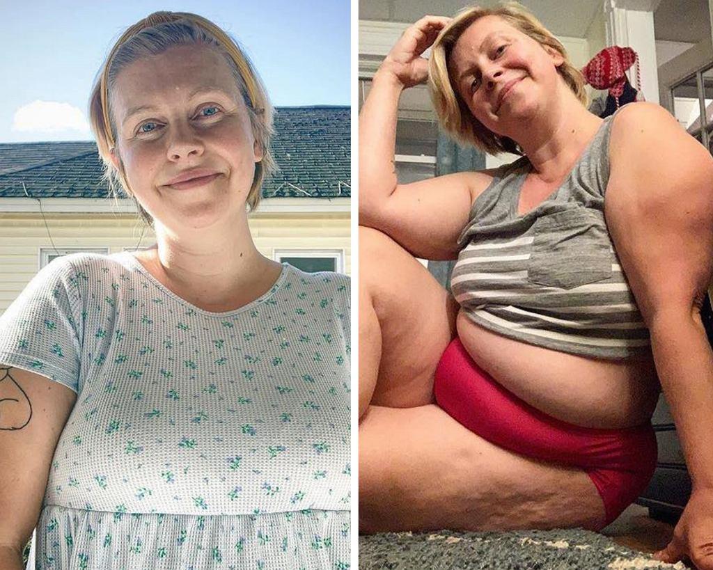 Lindsay Wolf nie wstydzi się tego, jak wygląda jej ciało po urodzeniu dzieci.
