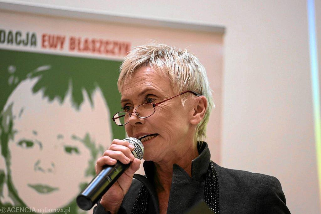 Ewa Błaszczyk, założycielka fundacji