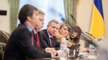 Jakiw Smolij, szef Narodowego Banku Ukrainy