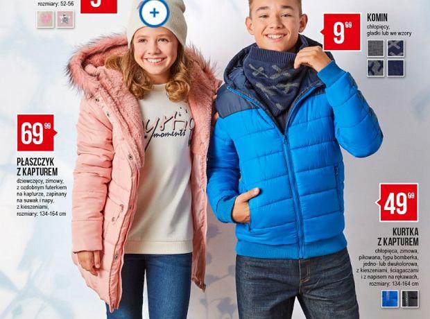 Lidl i Pepco. Promocja na kurtki i buty dla dzieci. Puchówka