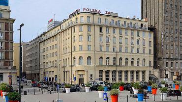 Budynek Telewizji Polskiej przy placu Powstańców Warszawy