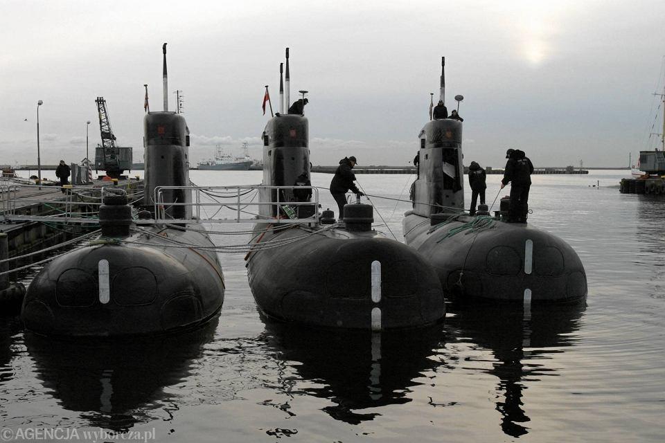Okręty podwodne w Gdyni Oksywie