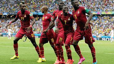 Taniec radości piłkarzy Ghany. Remis z Niemcami to ich wielki sukces