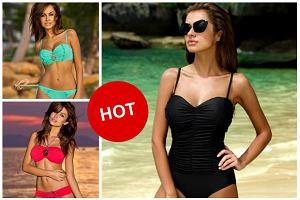 Natalia Siwiec gwiazdą kampanii reklamowej marki Gabbiano - zobacz seksowną modelkę w kostiumach kąpielowych! Jak się prezentuje?