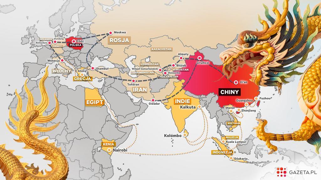 Chiński Jedwabny Szlak