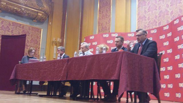 Debata przedwyborcza Radia TOK FM w Toruniu