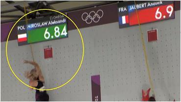 Rekord świata Aleksandry Mirosław