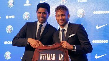 Neymar oficjalnie zaprezentowany jako piłkarz PSG