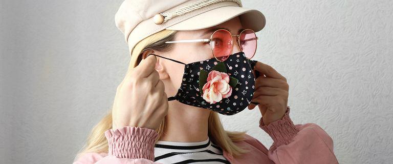 Maseczki ochronne wielorazowego użytku - modny obecnie element stroju