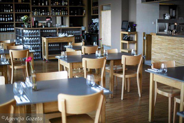 Restauracja Krew i Woda w centrum Gdyni