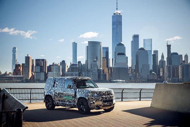 Prototyp Land Rovera Defendera