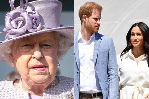 Królowa Elżbieta II wyrzuciła Meghan Markle i księcia Harry'ego z rodziny królewskiej?