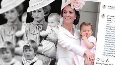 Księżna Kate wzoruje się Księżną Dianą. Chce wychować dzieci normalnie