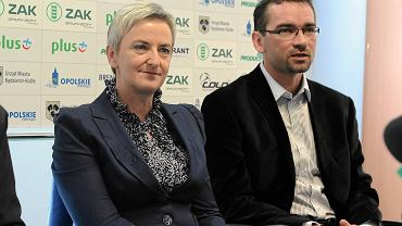 Sabina Nowosielska i Sebastian Świderski