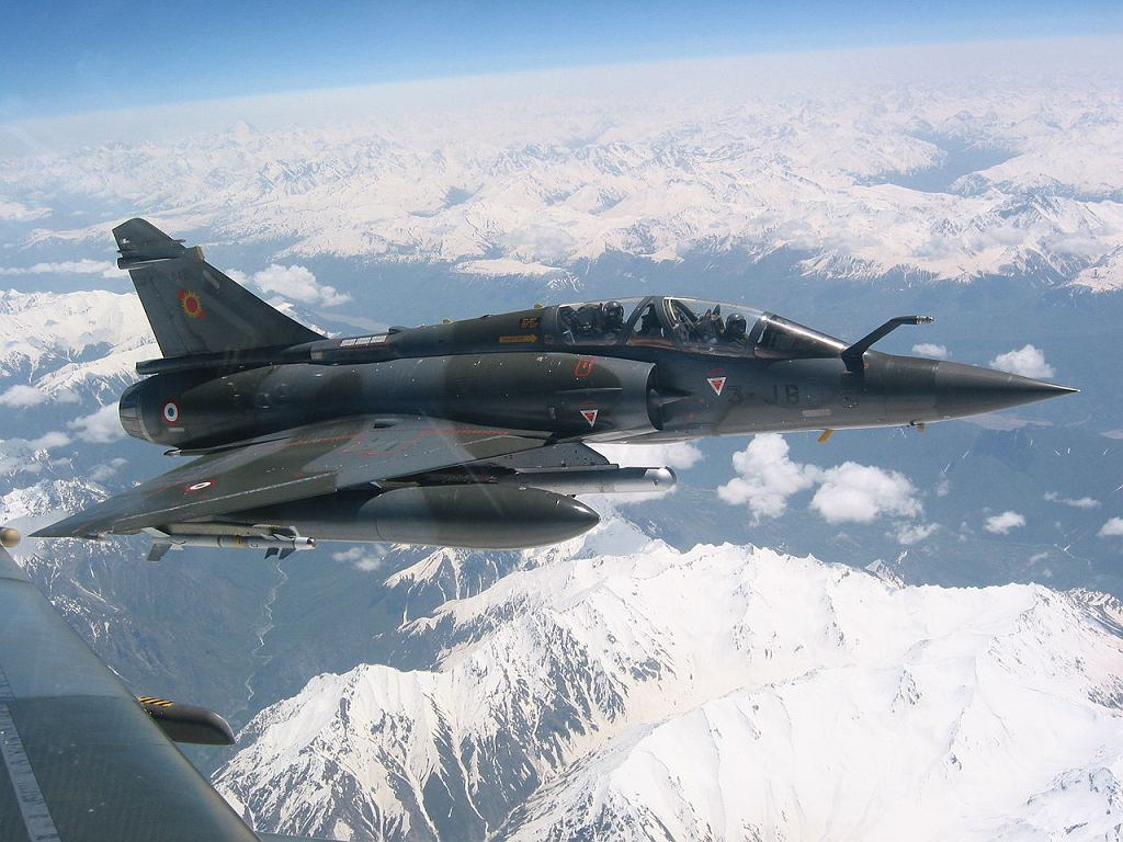 Francuski myśliwiec Mirage 2000D