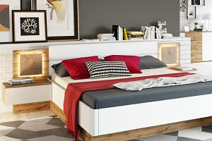 Łóżko do sypialni - najładniejsze modele w modnych kolorach i inspirujących aranżacjach