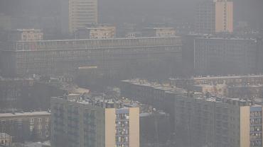 Smog w Katowicach, styczeń 2016 r.