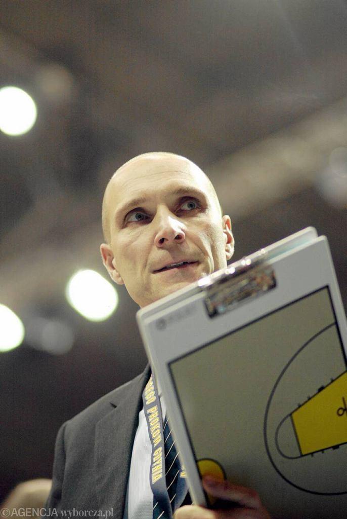 Andrzej Adamek, asystent trenera w Stelmecie Zielona Góra