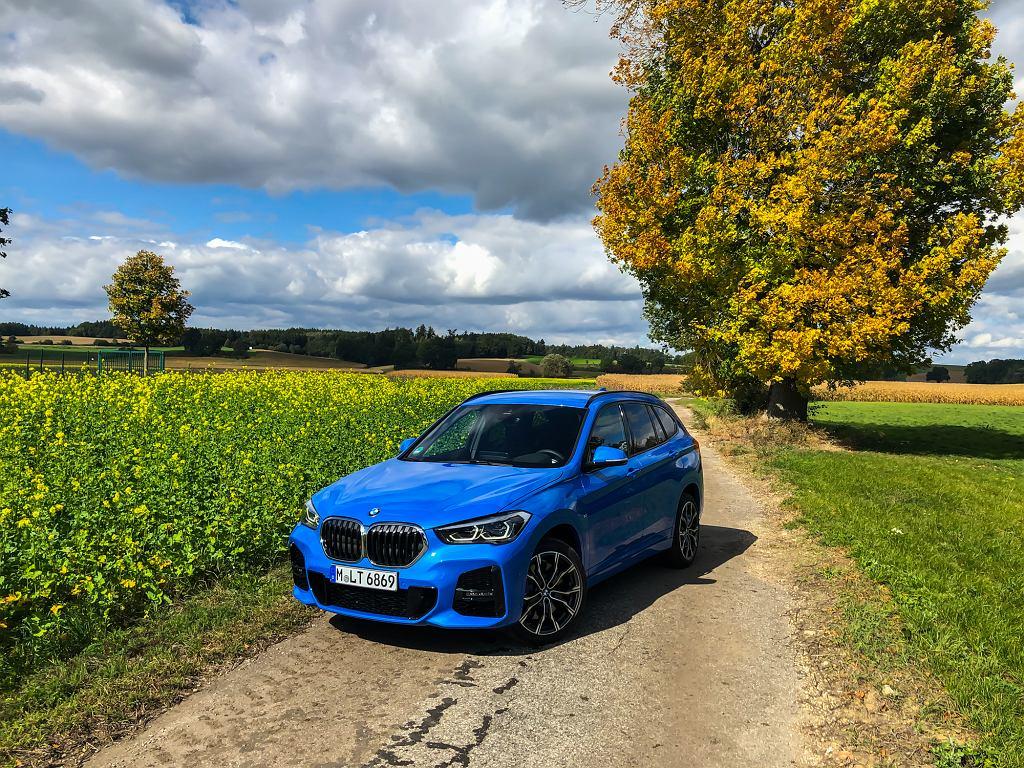BMW X1 25i - Misano Blue
