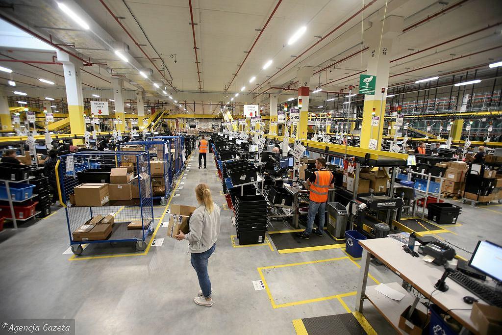 Centrum logistyczne Amazon (zdjęcie ilustracyjne)