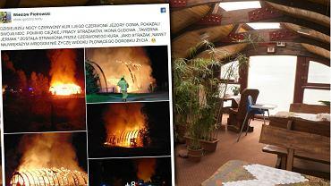 Pożar w Gudowie