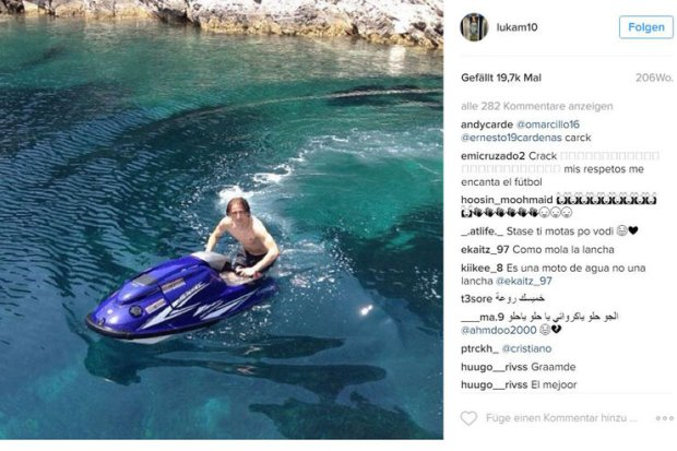 Luka Modric Instagram