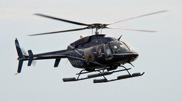 Śmigłowiec typu Bell 407. Policja kupiła najnowszą wersję