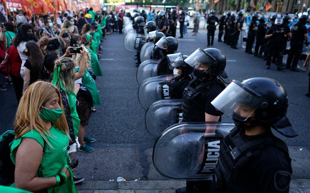 Argentyna. Protesty za legalizacją aborcji